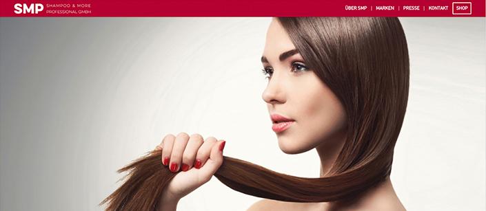 Screenshot Website SMP GmbH