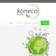 Screenshot Website Koneco