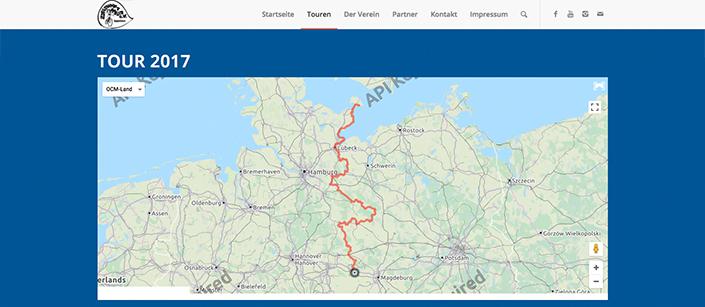 Screenshot Website Zielpunkt Meer e.V.