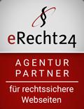 eRecht24 Gütesiegel Agentur Partner